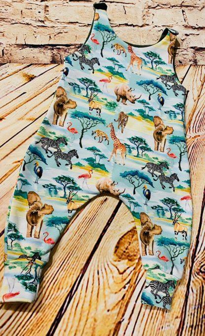 Romper Safari Animals