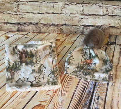 Snood & Hat Set (Winter Forest Design)