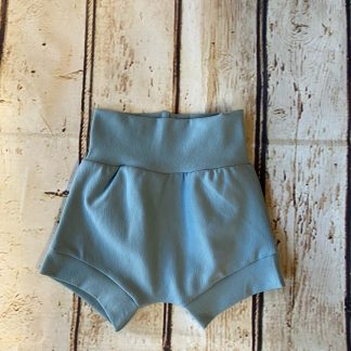 Bubble Shorts in Blue Grey