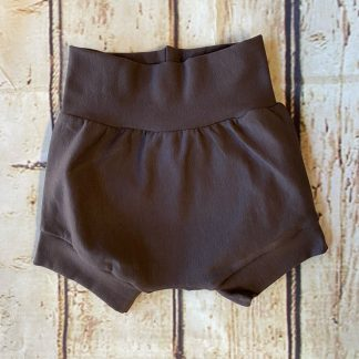 Bubble Shorts in Brown