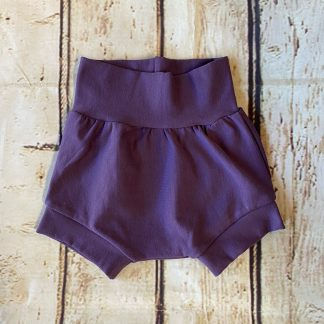 Bubble Shorts in Darker Purple