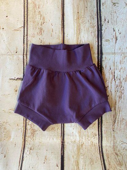 Bubble Shorts in Darker Purple