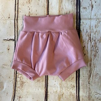 Bubble Shorts in Dusty Pink