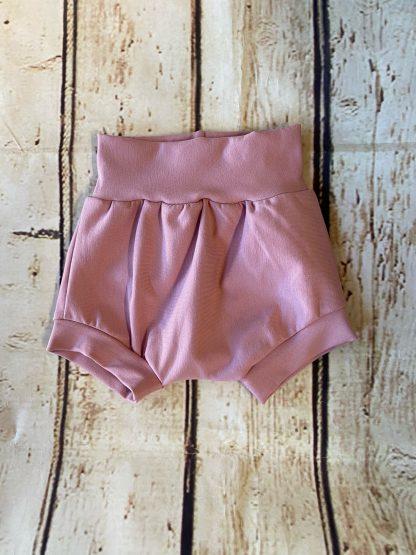 Bubble Shorts in Dusty Pink