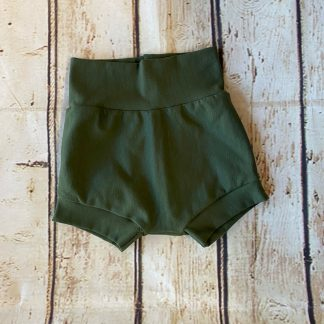 Bubble Shorts in Forest Green