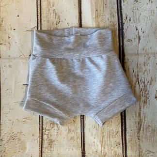Bubble Shorts in Light Grey