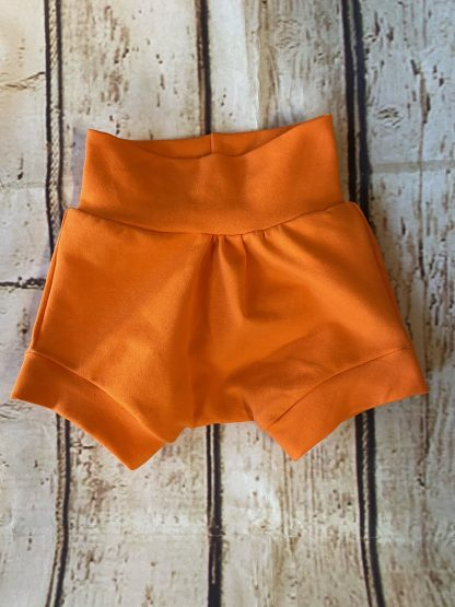 Bubble Shorts in Orange