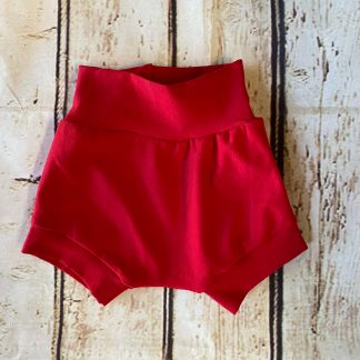 Bubble Shorts in Poppy Red