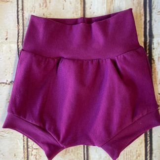 Bubble Shorts in Purple