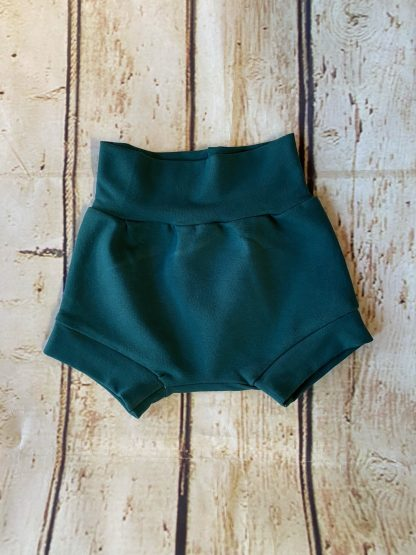 Bubble Shorts in Teal Green
